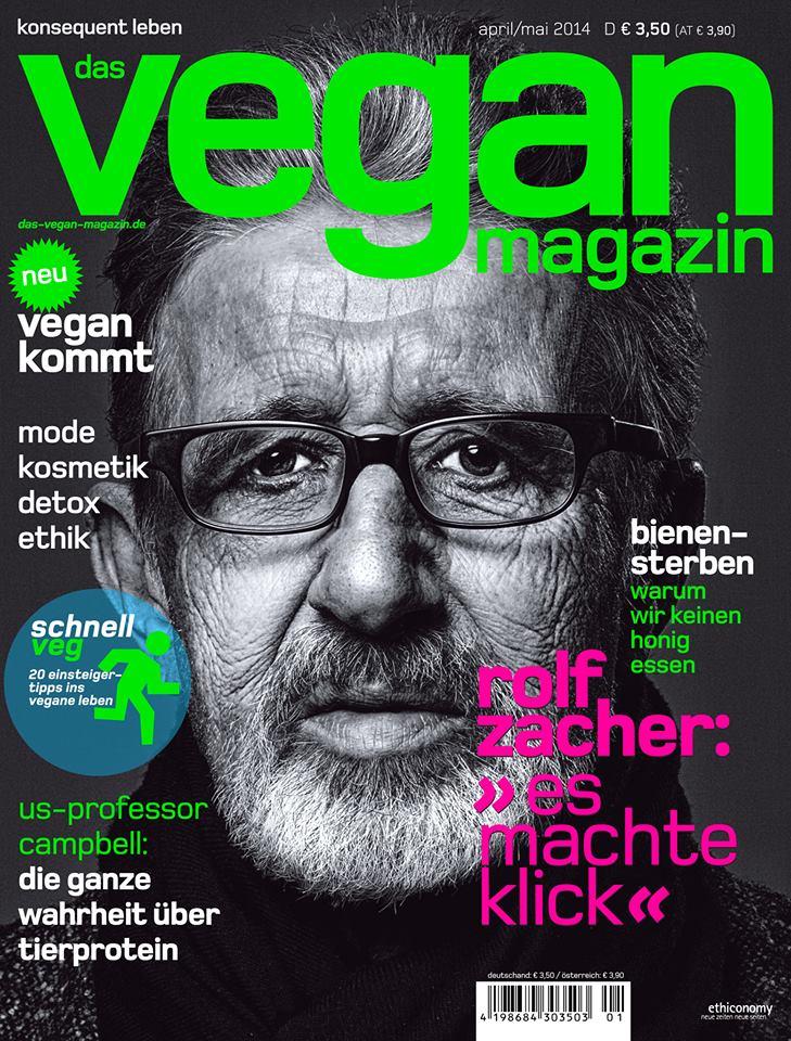 das veganmagazin erscheint am montag im handel!