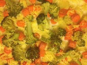 Kartoffel-Brokkoli-Möhren Auflauf