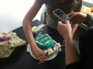Die Vegane Torte ist angekommen