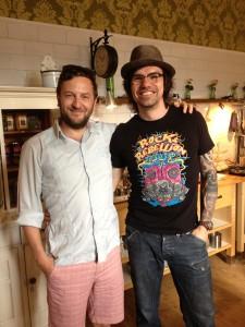 Vegan essen zum Vatertag im Kochatelier von und mit Volker Mehl